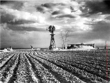 Approaching Storm by Margaret Bourke-White