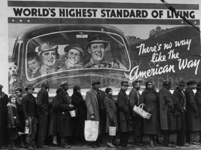 At the Time of the Louisville Flood by Margaret Bourke-White