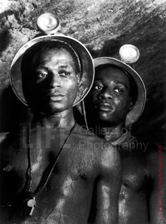 Gold Miners by Margaret Bourke-White