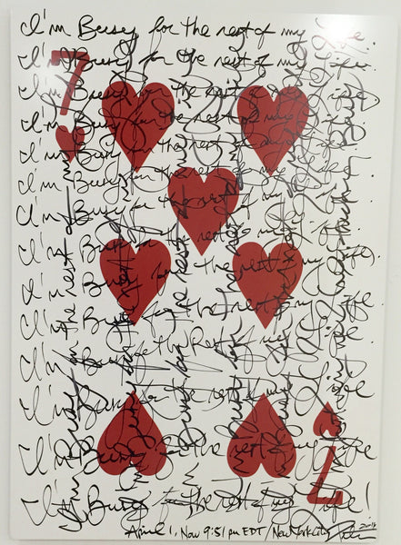 Seven of Hearts, 2016