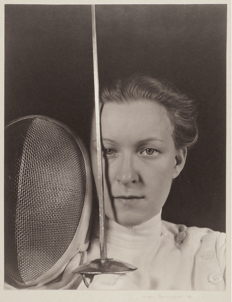 Portrait of Helena Mayer, Fencer -1935