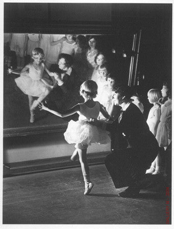 First Lesson at Truempy Ballet School by Alfred Eisenstaedt
