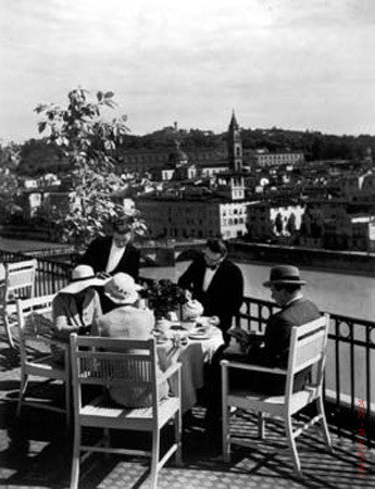 Afternoon Tea Excelsior by Alfred Eisenstaedt