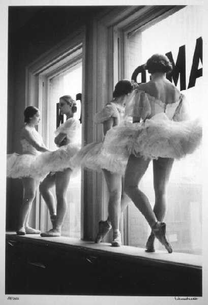 Future Ballerinas of American Ballet Theatre by Alfred Eisenstaedt