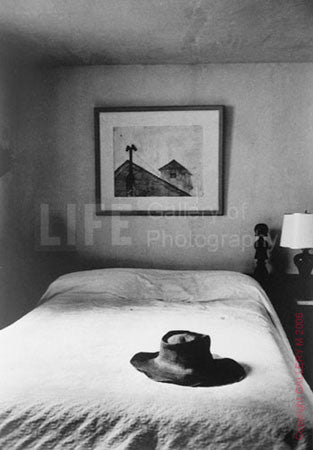 Andrew Wyeth's Hat and Bed by Alfred Eisenstaedt