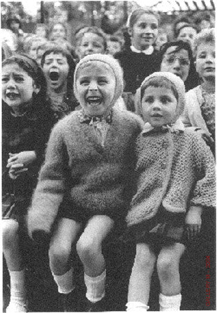 Children at Puppet Theatre III by Alfred Eisenstaedt