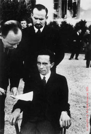 Dr. Joseph Goebbels at the League of Nations by Alfred Eisenstaedt