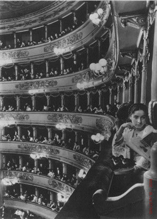 Premier at La Scala by Alfred Eisenstaedt