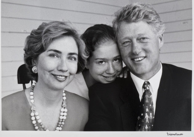President Bill Clinton & Family (Hilary & Chelsea)