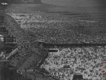 Coney Island, July 4 by Andreas Feininger