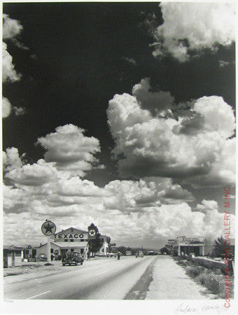 Route 66 - Seligman by Andreas Feininger