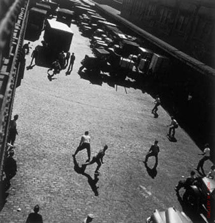 Playing Ball by Andreas Feininger