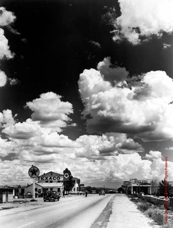 Route 66 - Grande by Andreas Feininger