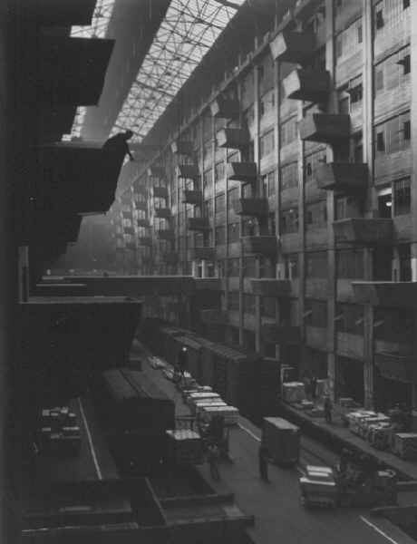 Warehouse Dock, Brooklyn by Andreas Feininger