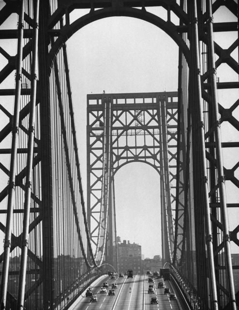 George Washington Bridge - Shut Down Christi - Feininger
