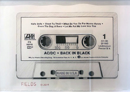 Cassette - Side 1: AC/DC - Back in Black
