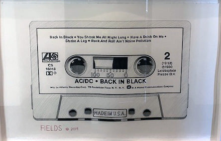 Cassette - Side 2: AC/DC - Back in Black