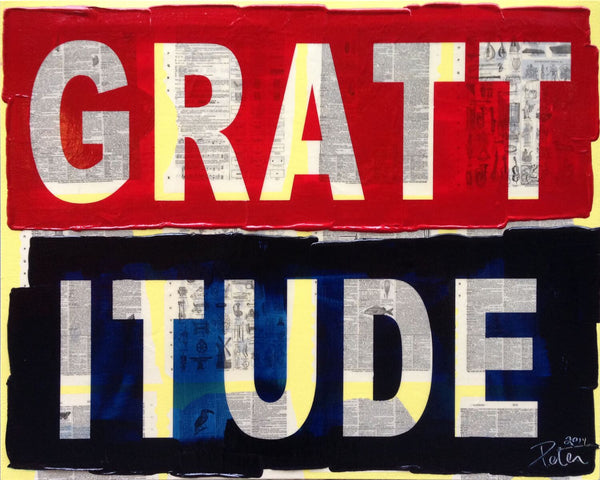 Grattitude, 2014 by Peter Tunney