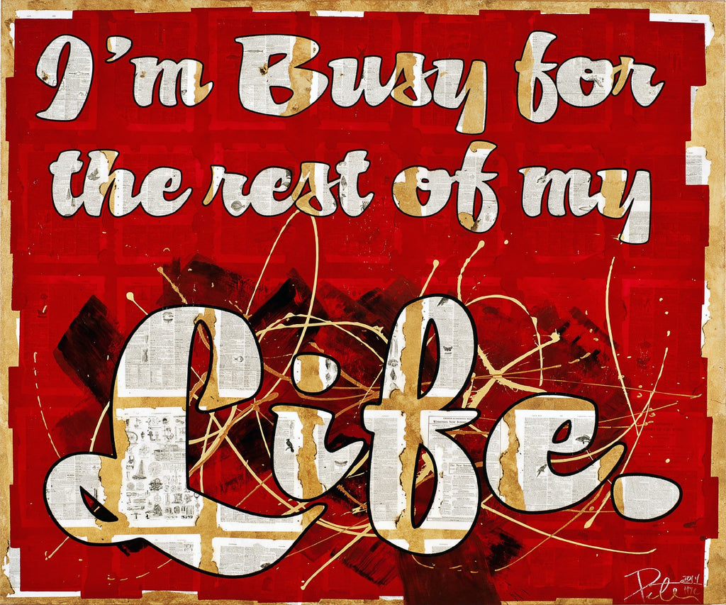 Peter Tunney I'm Busy for the rest of my Life