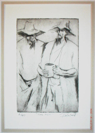Two Men by Palla Jeroff