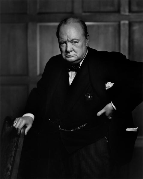 Winston Churchill by Karsh