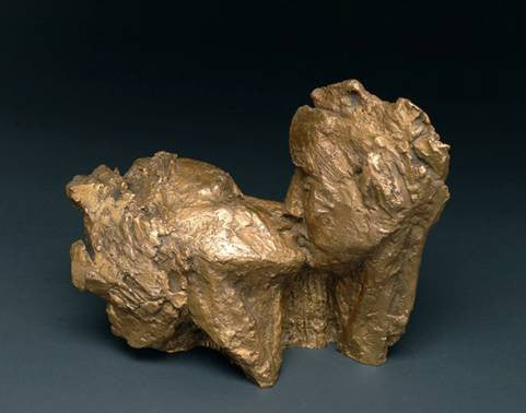 The Kiss - Bronze by Anne De Villemejane
