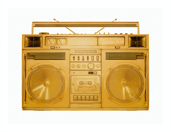 Gold Boombox 002 2018