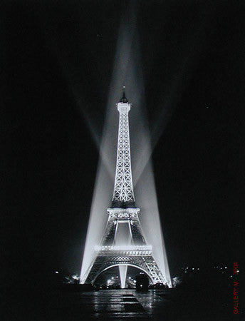 Eiffel Tower Relighted by Ralph Morse