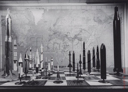 World Tactical Weapons Chessboard by Ralph Morse