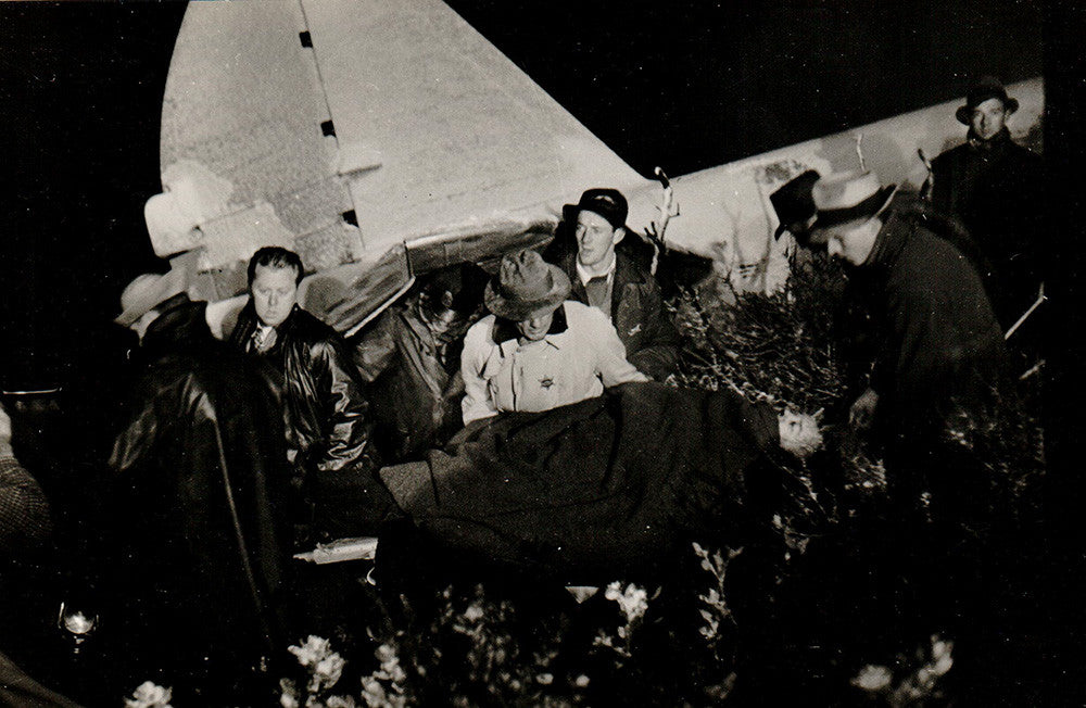 Crash of Western Airlines with the Martin Johnsons near Los Angeles, CA, 1937