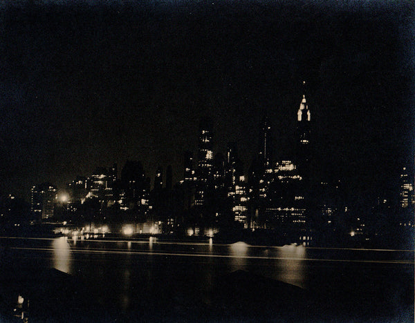 Lower New York as seen from My Brooklyn Heights Apartment,  1934
