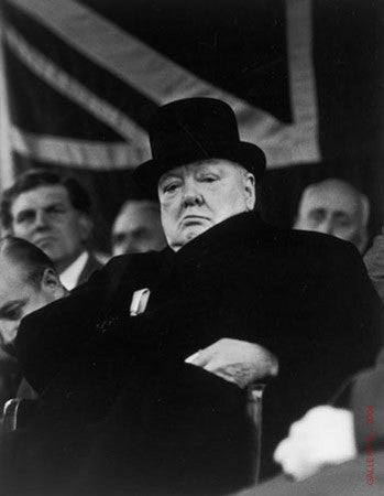 Prime Minister Winston Churchill by Carl Mydans