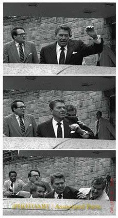 Reagan Shot Sequence by Ron Edmonds