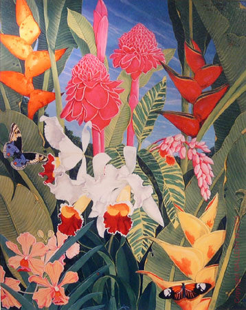 Floral Tapestry by Sal Salinero
