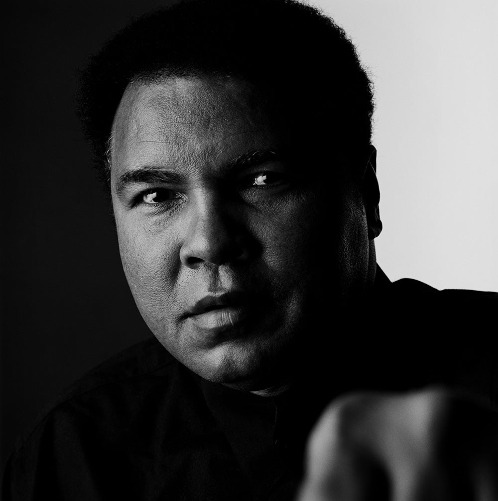 Muhammad Ali June 1997 by Howard Schatz