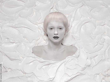 Eye Candy - White by Howard Schatz