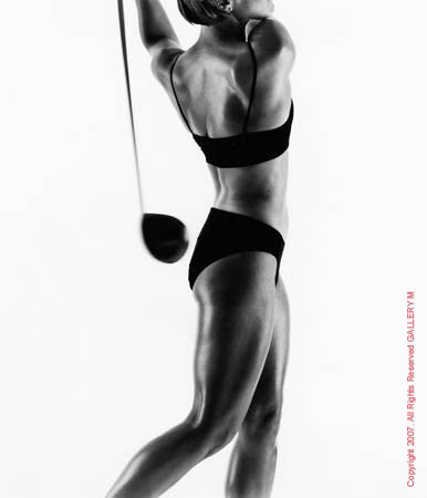 Annika Sorenstam by Howard Schatz