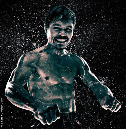 Boxing Study 1397 Manny Pacquiao by Howard Schatz