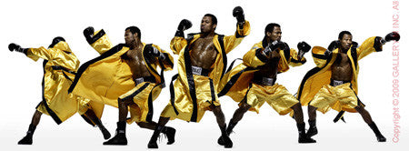 Boxing Study #1154 (Shane Mosley) by Howard Schatz