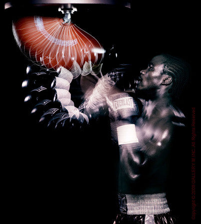 Boxing Study #1166 (Kassim Ouma) by Howard Schatz