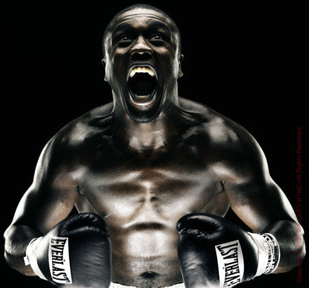 Boxing Study #1186(Andre Berto) by Howard Schatz