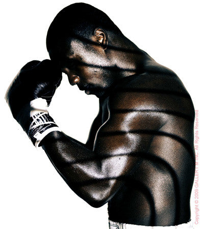Boxing Study #1188 (Andre Berto) by Howard Schatz