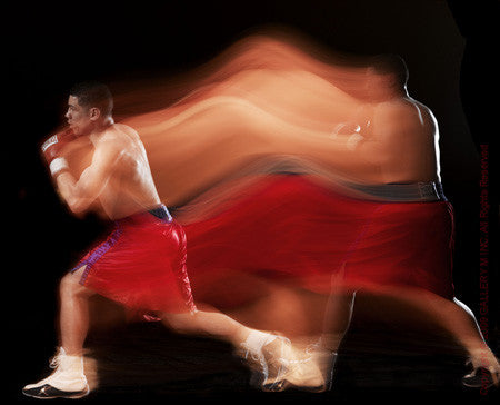 Boxing Study #1216 (Jose Antonio Rivera) by Howard Schatz