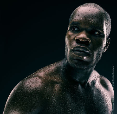 Boxing Study #1225 Sechew Powell by Howard Schatz