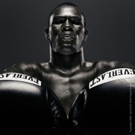Boxing Study #1291 Jermain Taylor by Howard Schatz