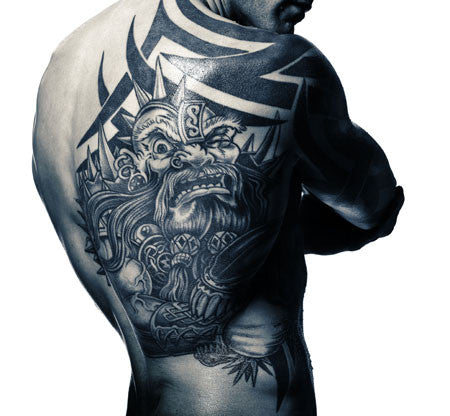 Boxing Study #1305 Mikkel Kessler by Howard Schatz