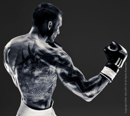 Boxing Study #1331 Mikkel Kessler by Howard Schatz
