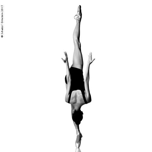 Balance - Dana Hanson by Howard Schatz