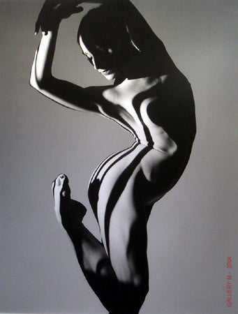 Shannon Chain  #3 by Howard Schatz