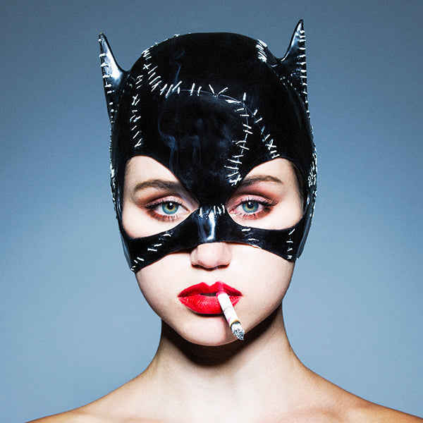 Cat Woman Dye Transfer Print - Rare by Tyler Shields